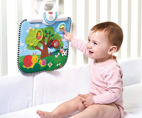 'Tiny Love Double Sided Crib Toy' - Dorel Europe