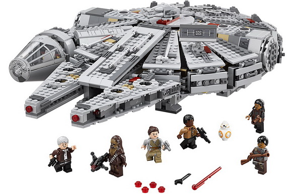 LEGO® Star Wars: The Force Awakens Millenium Falcon