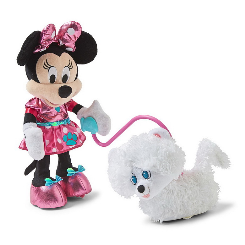 Disney Junior Minnie's Walk and Play Puppy (Just Play Products)