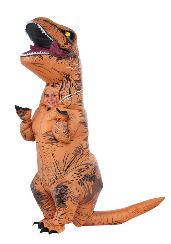 Rubie's Jurassic World T-Rex Inflatable Costume (Rubie's Costume Company, Inc.)