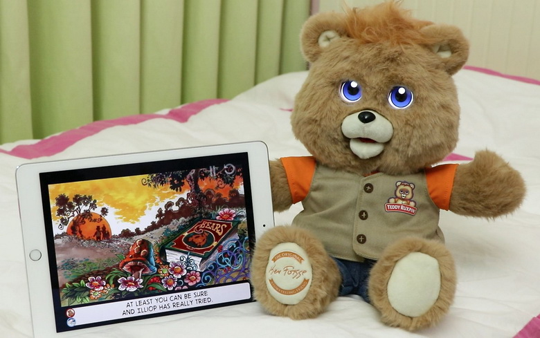 Teddy Ruxpin (Wicked Cool Toys)