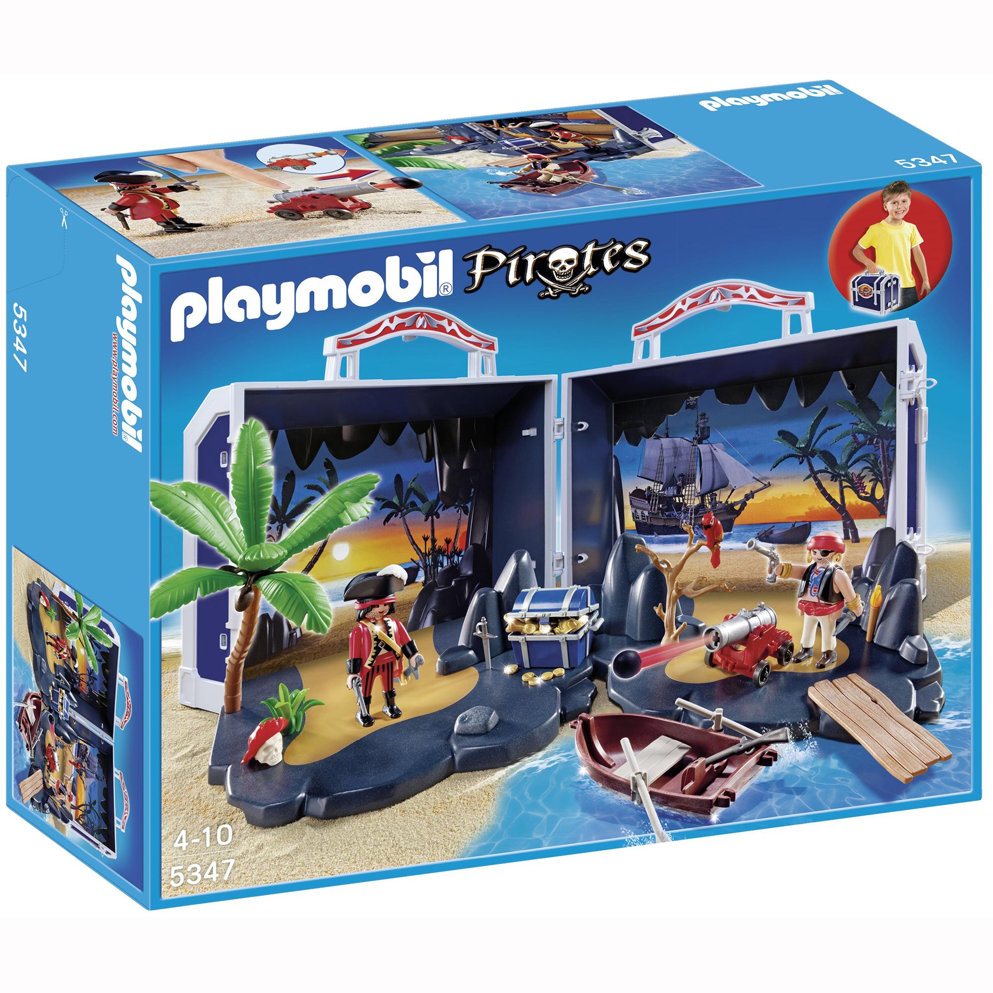 playmobil pirate treasure chest