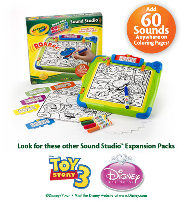 Студия рисования Crayola Color Wonder Sound Studio™